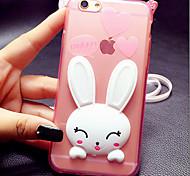 ТПУ кролика кронштейн оболочка для iPhone5 / iPhone 5s