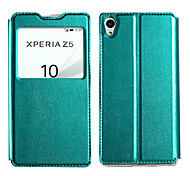 KALAIDENG Sun Series Super Thin View Leather Case for Sony Xperia Z5(Assorted Colors)