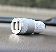 SHUNWEI® Car Electronics 2.1A Dual-Port Rapid USB Car Charger Cigarette Charger