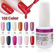 1PCS 9ml UV Color Gel Phototherapy Glue Nail Polish 97#-108#