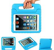 choc de poids léger preuve convertibles stand poignée couverture enfants amicales pour Apple iPad mini-4