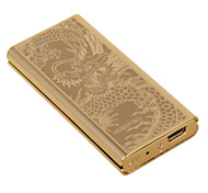 "Personality Originality Charging Lighter Ultra Thin Windproof Electronic Cigarette Lighter Metal Silent ""Dragon"""