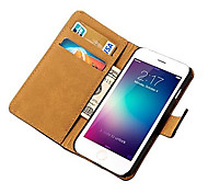 Durable PU Leather Wallet Case for iPhone 6/6S Plus (Assorted Colors)