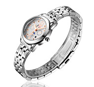 Woman's Watch Ladies And Double Calendar Waterproof Business Casual Quartz Watch