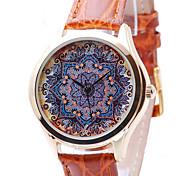 pendiente de las mujeres - patrón de flores, para mujer boho estilo elegante reloj, regalos para las mujeres, ideas del regalo para la