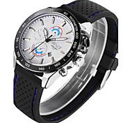 Men's Watch BOSCK Bai Shi Waterproof Silicone Tape Calendar Watch