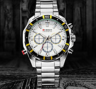CURREN Steel Men Sport Watches Men Casual quartz Watch (Assorted Colors)