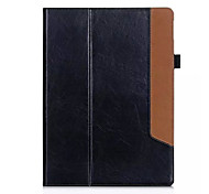 Newest Fashion Flip Cover Real Leather Tablet Protect Shell for ipad pro 12.9