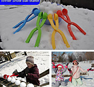Winter Snow Ball Maker Sand Mold Tool Kids Toy Lightweight Compact Snowball Fight Outdoor Sport Tool Toy Sports