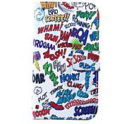 vintage cartoon schilderij pu lederen full body case met standaard voor Samsung Galaxy S3 // s3 mini / S4 / S4 mini / S5 / s5 mini