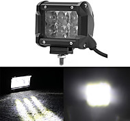Fish Eyes 4 Inch 30W Offroad Flood Beam LED Light Bar For Trailer 4X4 4WD ATV SUV Car Auto Driving Flog
