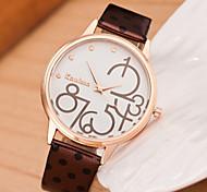 Woman Fashion Diamond Dot Watch