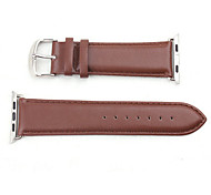 Fashion Apple Watch Genuine leather Strap I Watch Band with Connector