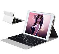 la cubierta protectora y un teclado bluetooth rotativo para ipad aire o ipad5