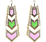 European Style  Fashion Enamel Arrows Joint Alloy Earrings