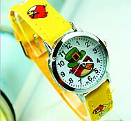 Angry Birds Cartoon Children Watch / Electronic Quartz Watch