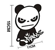 divertente finestra muro hi auto panda sticker Car Styling decalcomania