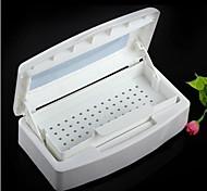 pro nail art esterilizador plástico caixa de desinfecção bandeja