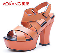 Aokang® Women's Leather Sandals - 132818096