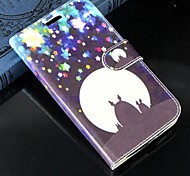 For Samsung Galaxy Case Card Holder / Wallet / with Stand / Flip Case Full Body Case Cartoon PU Leather SamsungS Advance / Win / Grand