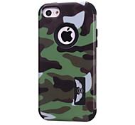 dura caso armadura delgada para 5c apple iphone (colores surtidos)