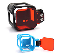 Protection Case Frame + Diving Filter for GOPRO HERO 4 SESSION