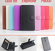 2015 New Best Quality Fashion PU Leather Full Body Case with Stand for Elephone P8000(Assorted Colors)