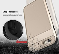 design compact robuste couvercle du boîtier de blindage actif de protection pour Apple iPhone 6 plus / 6s et plus (couleurs assorties)