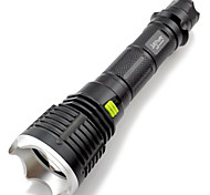 Lights LED Flashlights/Torch / LED Light Bulbs LED 3000 lumens Lumens 1 Mode Cree XM-L2 18650Waterproof / Rechargeable / Nonslip grip /