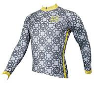 Tops ( Gris ) - de Fitness / Deportes recreativos / Ciclismo / Campo Traviesa / Esquí Fuera del Camino / triatlón / Running -Transpirable