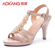Aokang® Women's Leather Sandals - 132811410