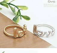 Creative Fashion LOVE Letters  Ring