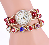 YILISHA®  Women's Bead Colorful Crystal Quartz Bracelet Watches