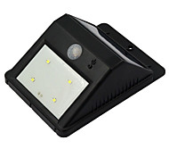 Solar Power Motion Sensor Wireless LED Light Outdoor Garden Security Wall Lamp