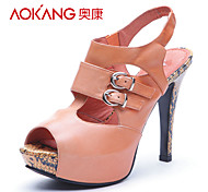 Aokang® Women's Leather Sandals - 132811017