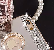 Pure Handmade Diamond Shining Diamond Mirror Back Case for iPhone 6 Plus/6S Plus(Assorted Colors)