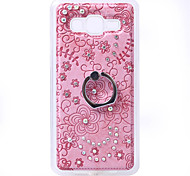Diamond Soft TPU Cover Case Back with Mobile phone Ring Bracket Mobile phone shell For Galaxy Grand Prime/G530