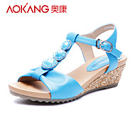 Aokang® Women's Leather Sandals - 132823664