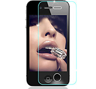 HD Fingerprint-Proof Transparent Scratch-Proof Glass Film for iPhone 4/4S