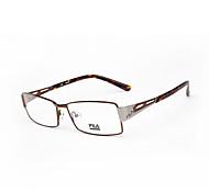 [Free Lenses]  Men 's Acetate/Plastic / Metal Rectangle Full-Rim Classic / Fashion Prescription Eyeglasses