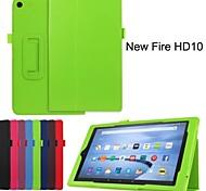 Schutz Tablet-Taschen Ledertaschen Halterung Holster für Amazon Kindle Fire HD10