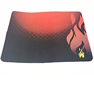 Red Hellfire Anti-Slip Laptop PC Mice Pad Mat Gaming Mouse pad For Optical Laser Mouse  (36×28×0.2cm)