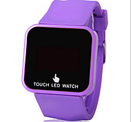 Student Electronic Watch LED Motion Touch Screen