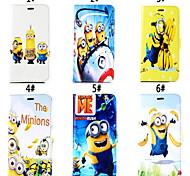 daddy Reihe von kleinen gelben Leute Muster Magnet-Köchertasche Schnalle für iPhone 5 / 5s (verschiedene Farben)
