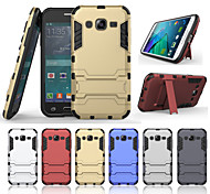 Iron Man Super Protection 3 in1 TPU+PC+Stand Case For Samsung Galaxy J2 Shockproof Back Cover Case