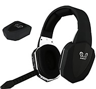 hg398 2.4g digital de auriculares inalámbricos a través de los videojuegos oído micrófono desmontable para tv wii pc mac PS3 PS4 xbox 360 xbox uno