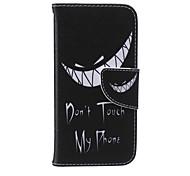 denture cuir PU carte flip cas de téléphone pour iphone 6 / 6s