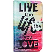 Sea Life Painted PU Phone Case for Galaxy S2 I9100