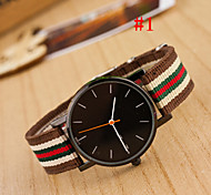 Men's Watch Fashion Watch Simple Style Black Round Dial