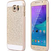 disco flash de plástico tampa de cristal de diamante que bling fundas CAPA caso para Samsung Galaxy S6 / S6 borda / beira S6 plus / S5 /